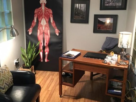 Hands On Massage Therapy Reception Area